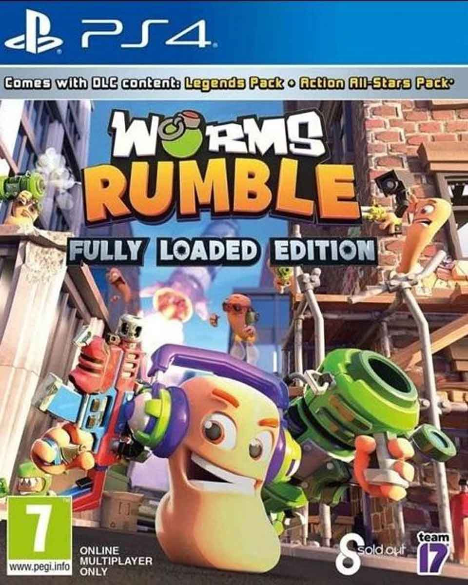 PS4 Worms Rumble - Fully Loaded Edition