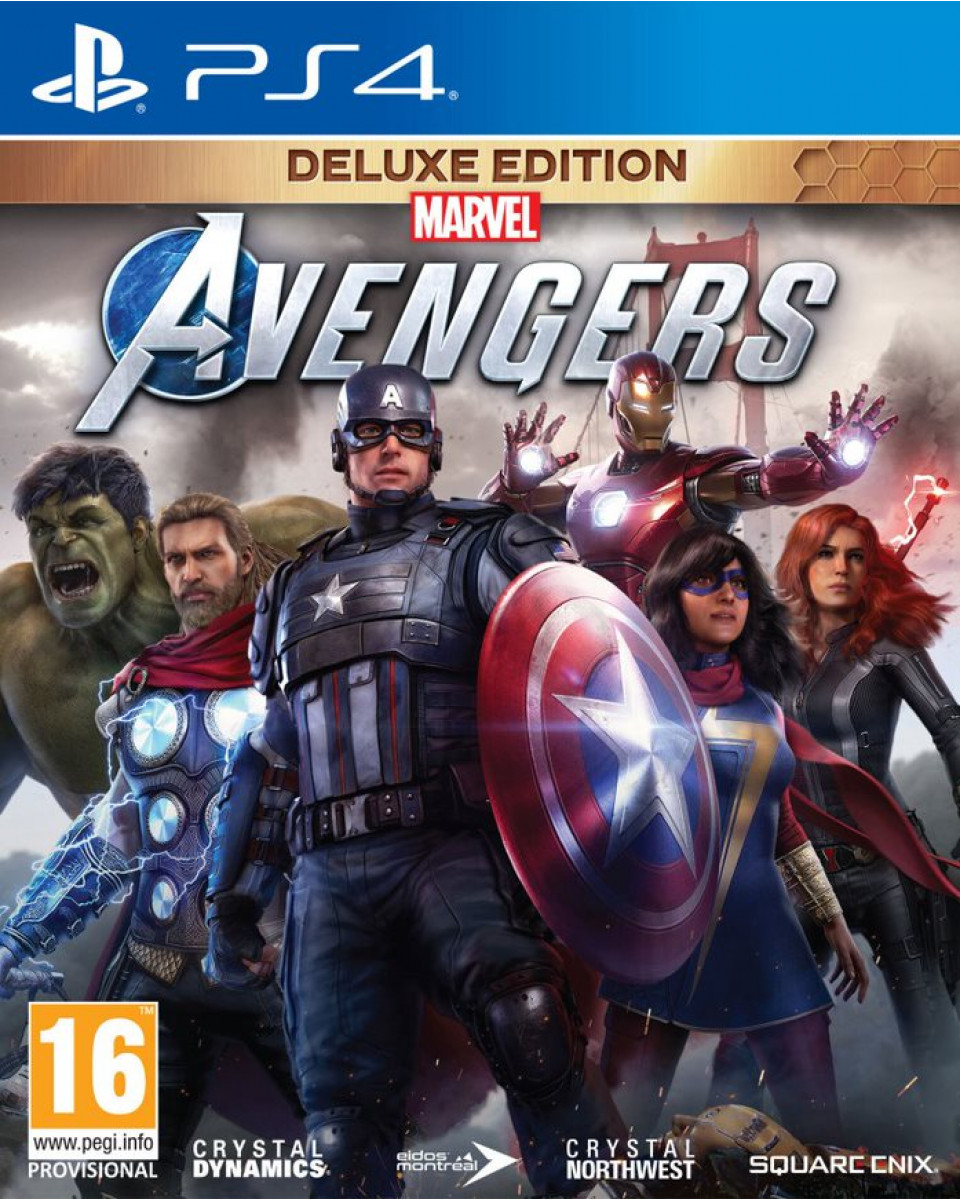 PS4 Marvel's Avengers  - Deluxe Edition
