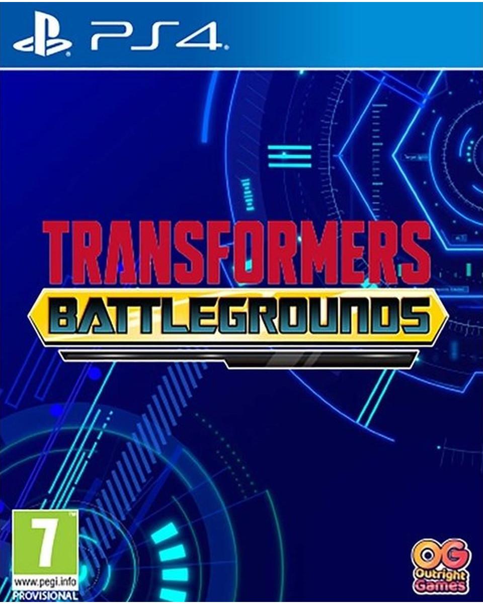 PS4 Transformers Battlegrounds