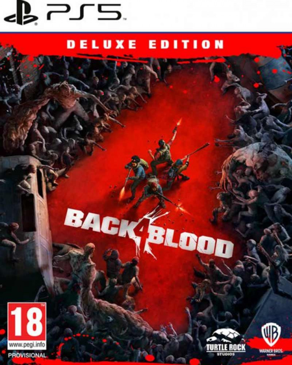 PS5 Back 4 Blood Deluxe Edition
