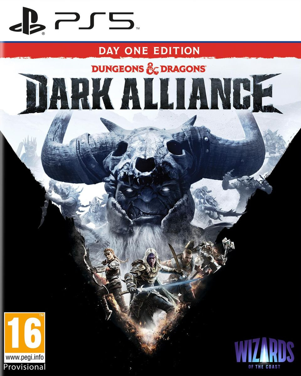 PS5 Dungeons and Dragons: Dark Alliance Day One Edition