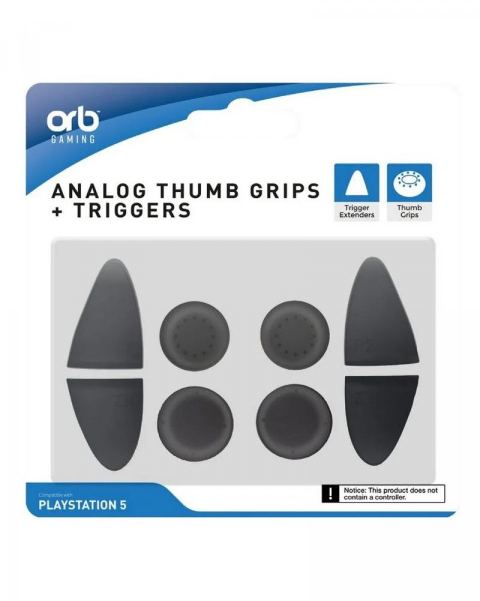 PS5 ORB Analog Thumb Grips & Triggers