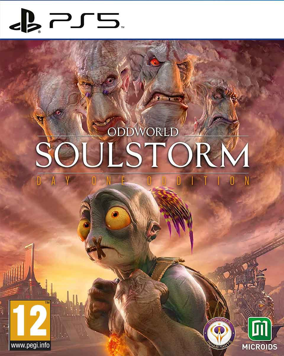 PS5 Oddworld: Soulstorm Day One Oddition