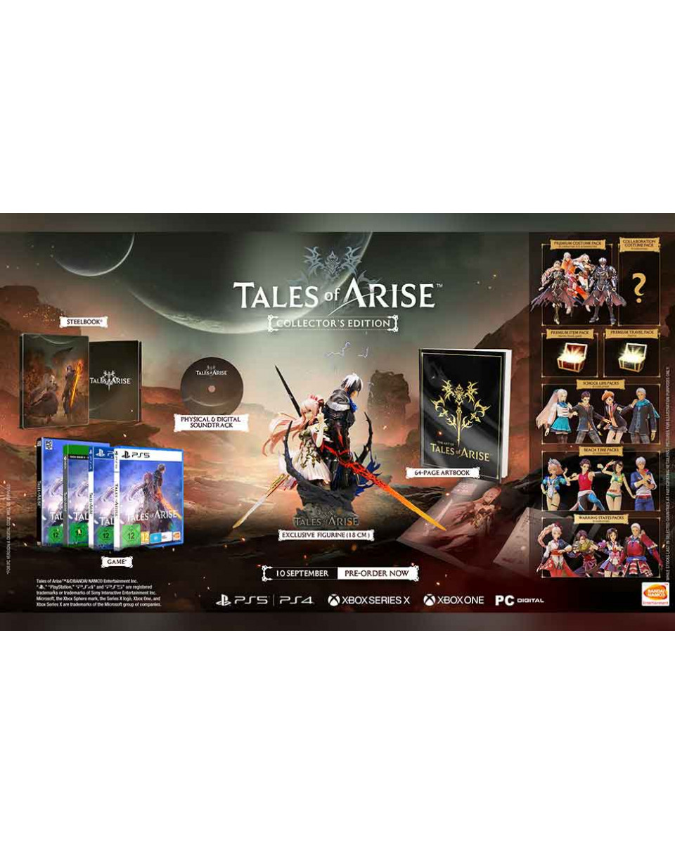 PS5 Tales Of Arise - Collectors Edition