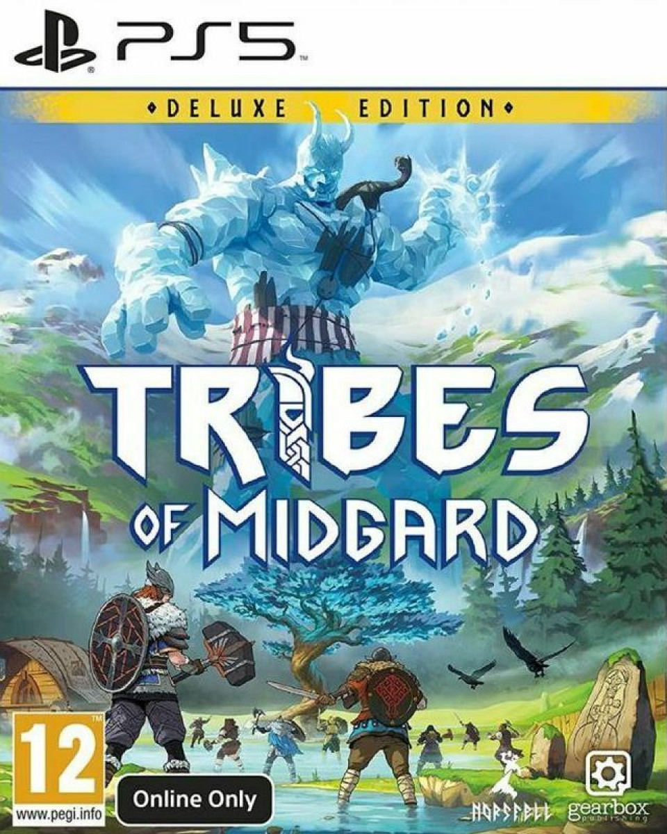 PS5 Tribes of Midgard Deluxe Edition