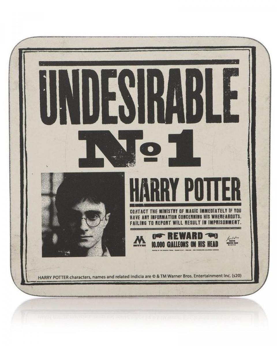 Podmetač za čaše Harry Potter - Undesirable No1