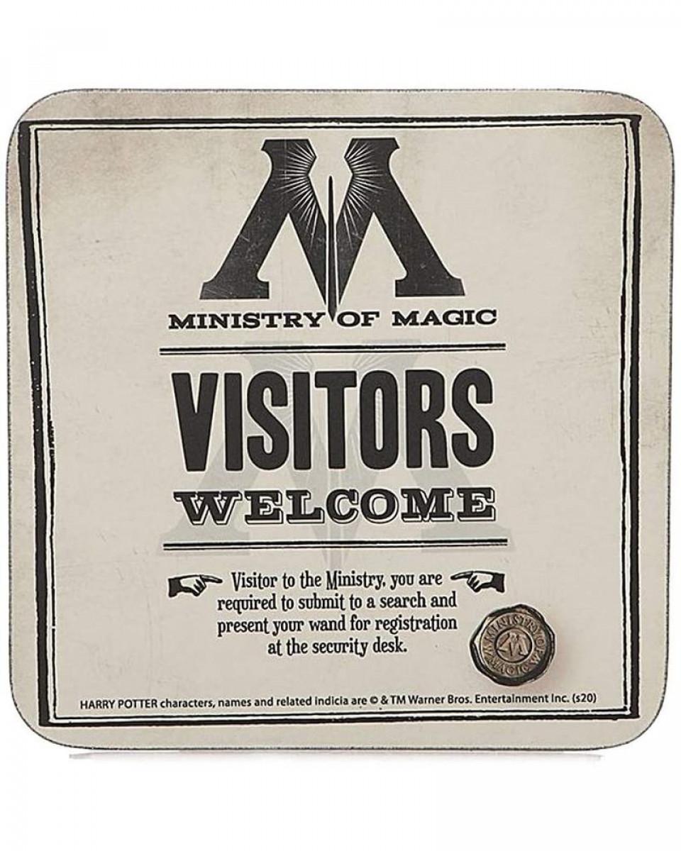 Podmetač za čaše Harry Potter - Ministry of Magic - Visitors Wellcome