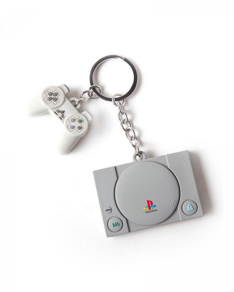 Privezak 3D Playstation - Console & Controller
