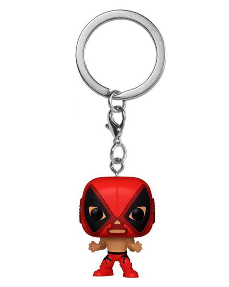 Privezak Pocket Pop! Marvel Lucha Libre - Deadpool