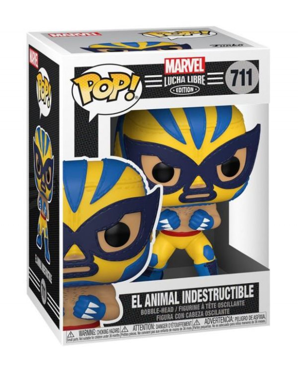 Privezak Pocket Pop! Marvel Lucha Libre - Wolverine