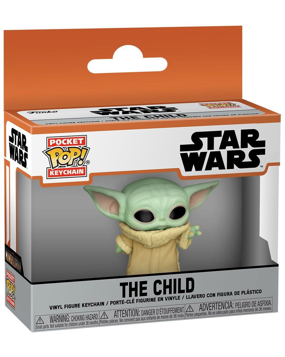 Privezak Pocket POP! Star Wars Mandalorian - The Child