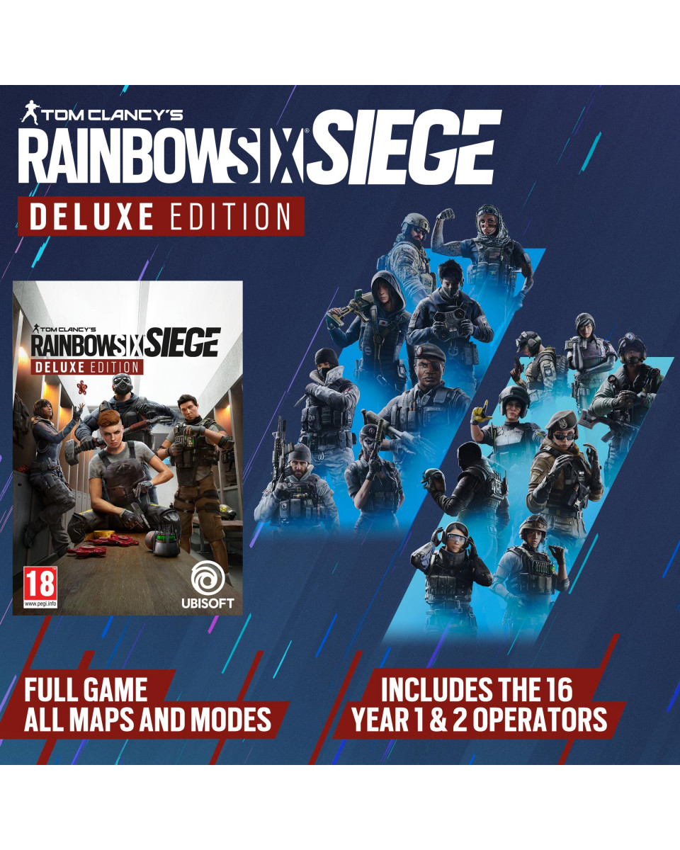 PS5 Tom Clancy's Rainbow Six - Siege Deluxe Year 6