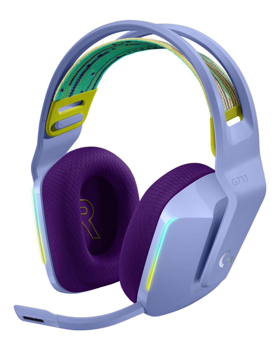Slušalice Logitech G733 Purple