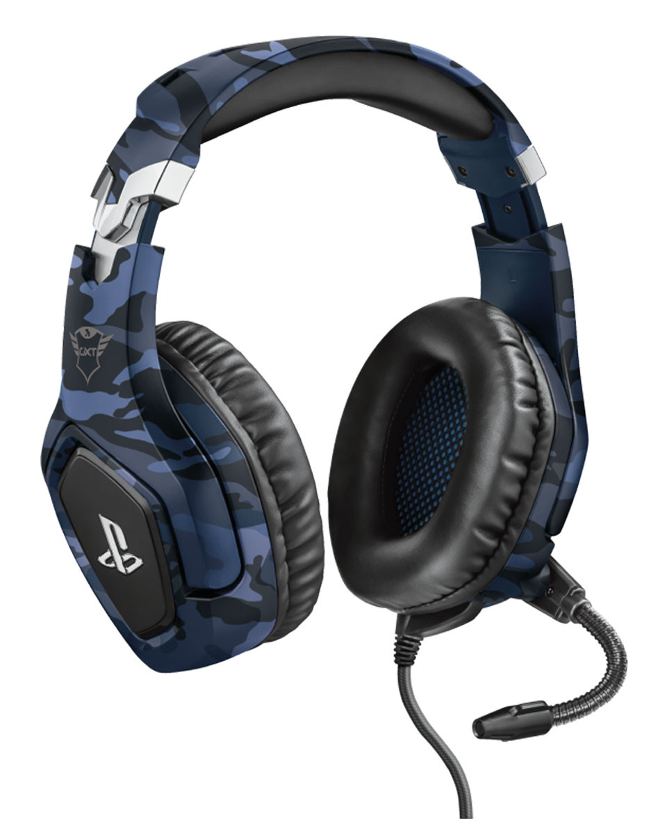 Slušalice Trust GXT 488 Forze-B - Camo Blue