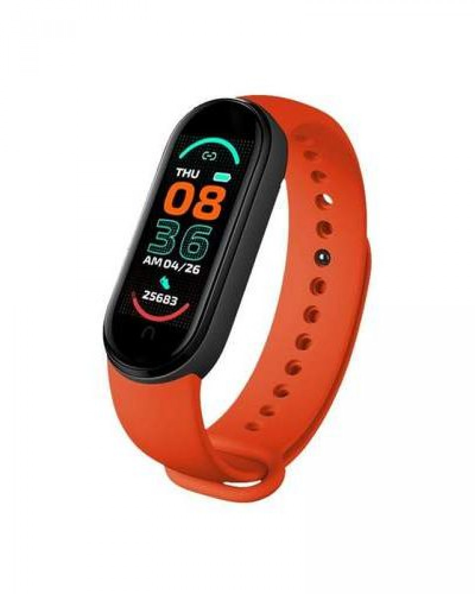 Smart Band Moye Fit Pro M6 - Orange