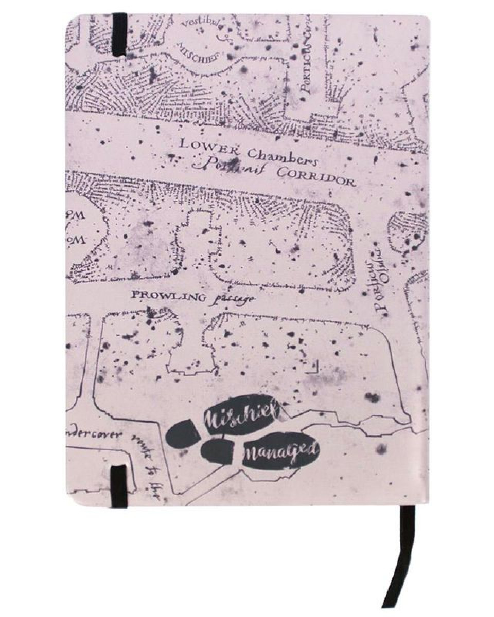 Sveska Harry Potter - Marauder's Map