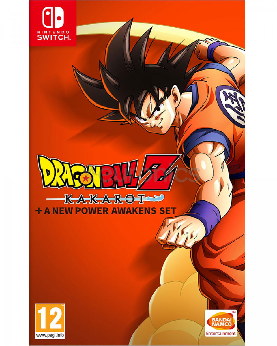 Switch Dragon Ball Z Kakarot - Complete Edition