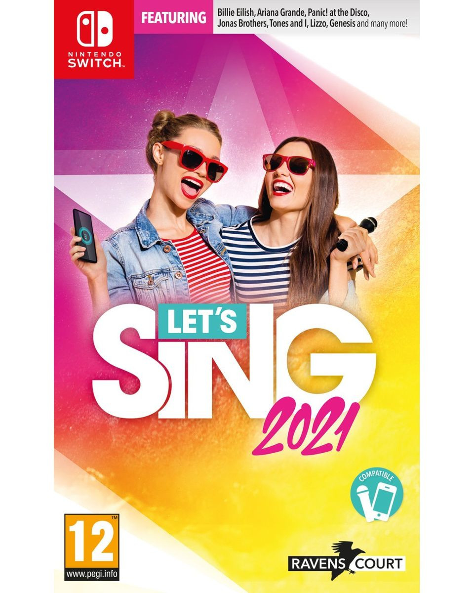 Switch Let's Sing 2021