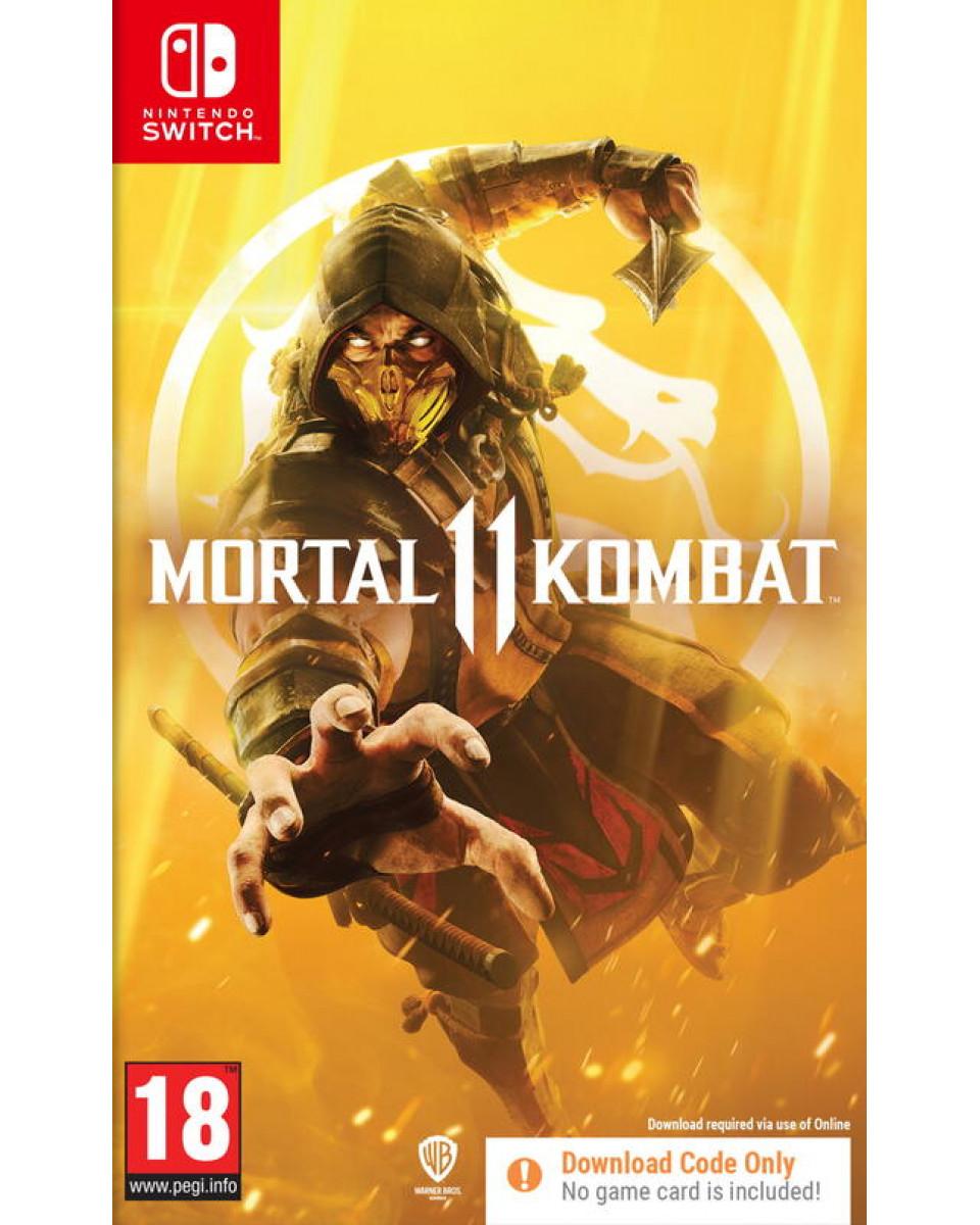 Switch Mortal Kombat 11 (Code In Box)