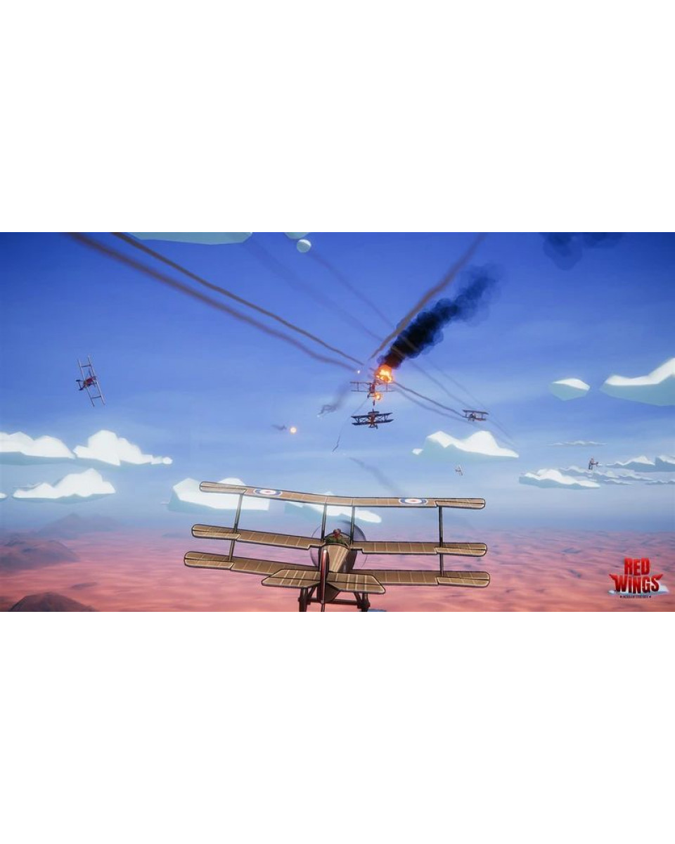 Switch Red Wings: Aces of the Sky - Baron Edition