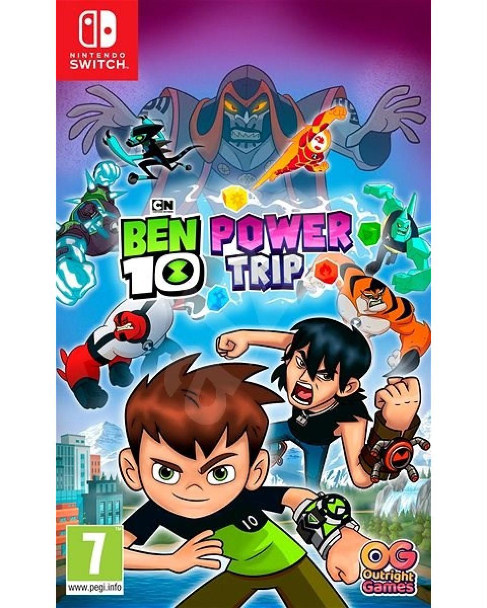 Switch Ben 10 - Power trip!