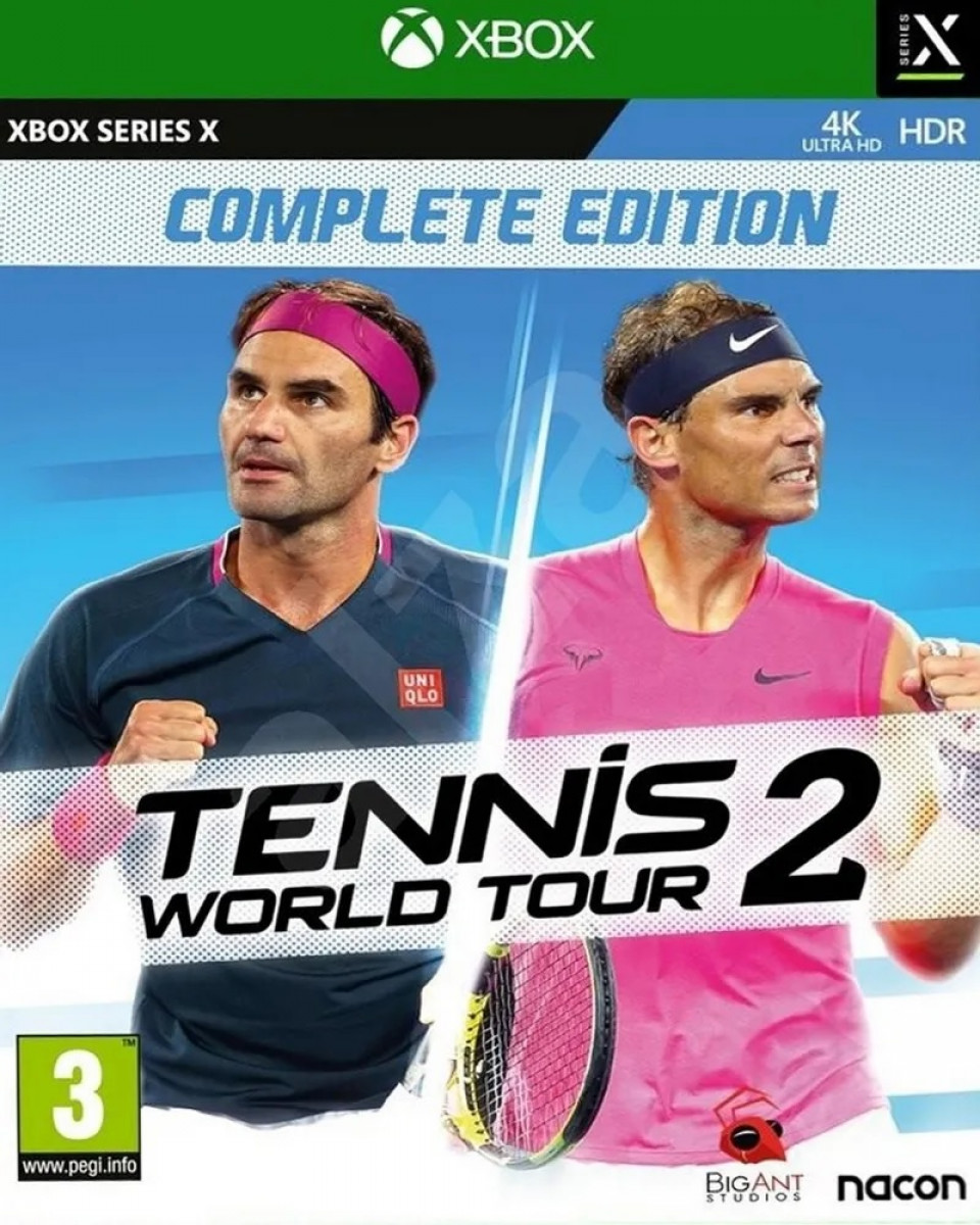 XBOX Series X Tennis World Tour 2: Complete Edition