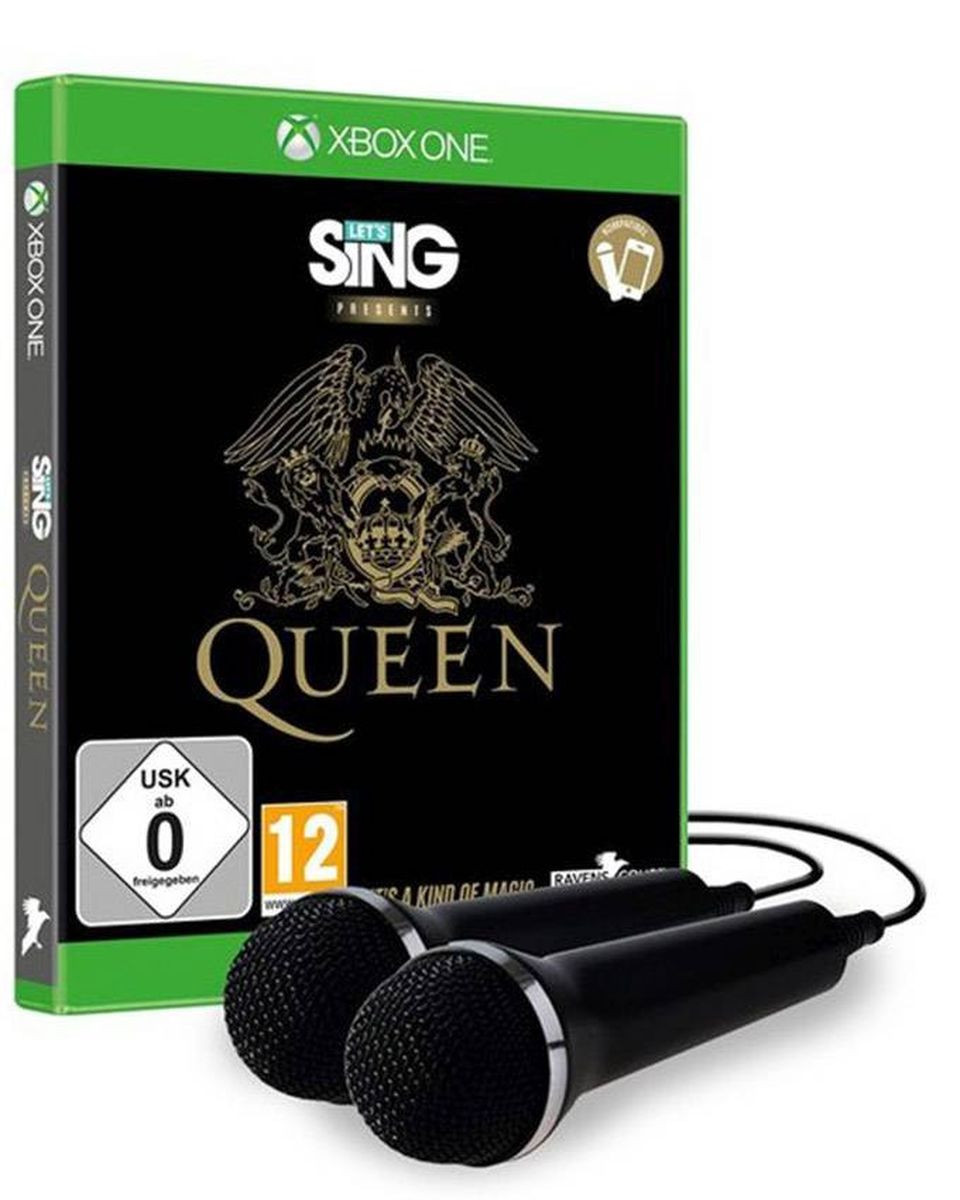 XBOX ONE Let's Sing - Queen + 2 Mikrofona