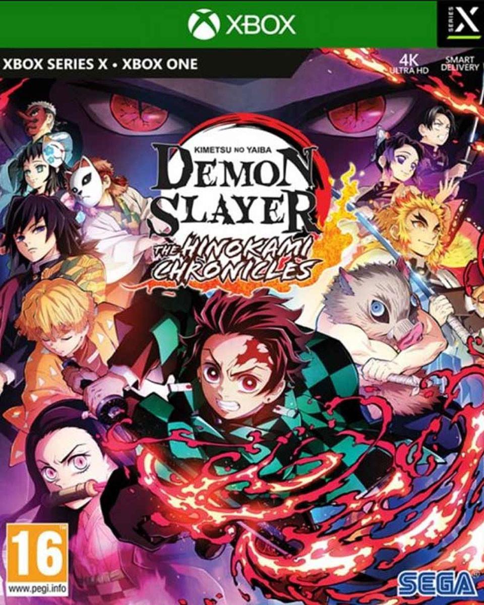 XBOX ONE XSX Demon Slayer - Kimetsu no Yaiba - The Hinokami Chronicles