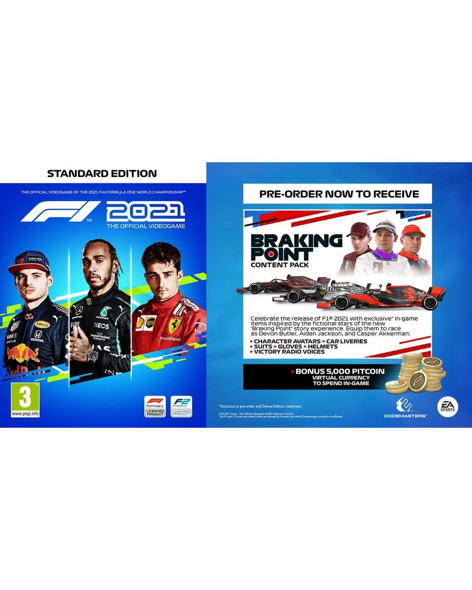 XBOX ONE XSX Formula 1 - F1 2021