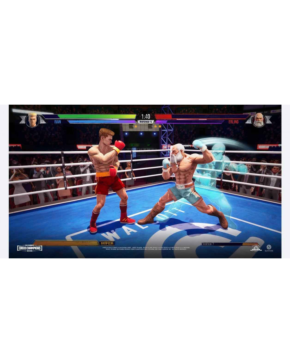 XBOX ONE XSX Big Rumble Boxing - Creed Champions - Day One Edition