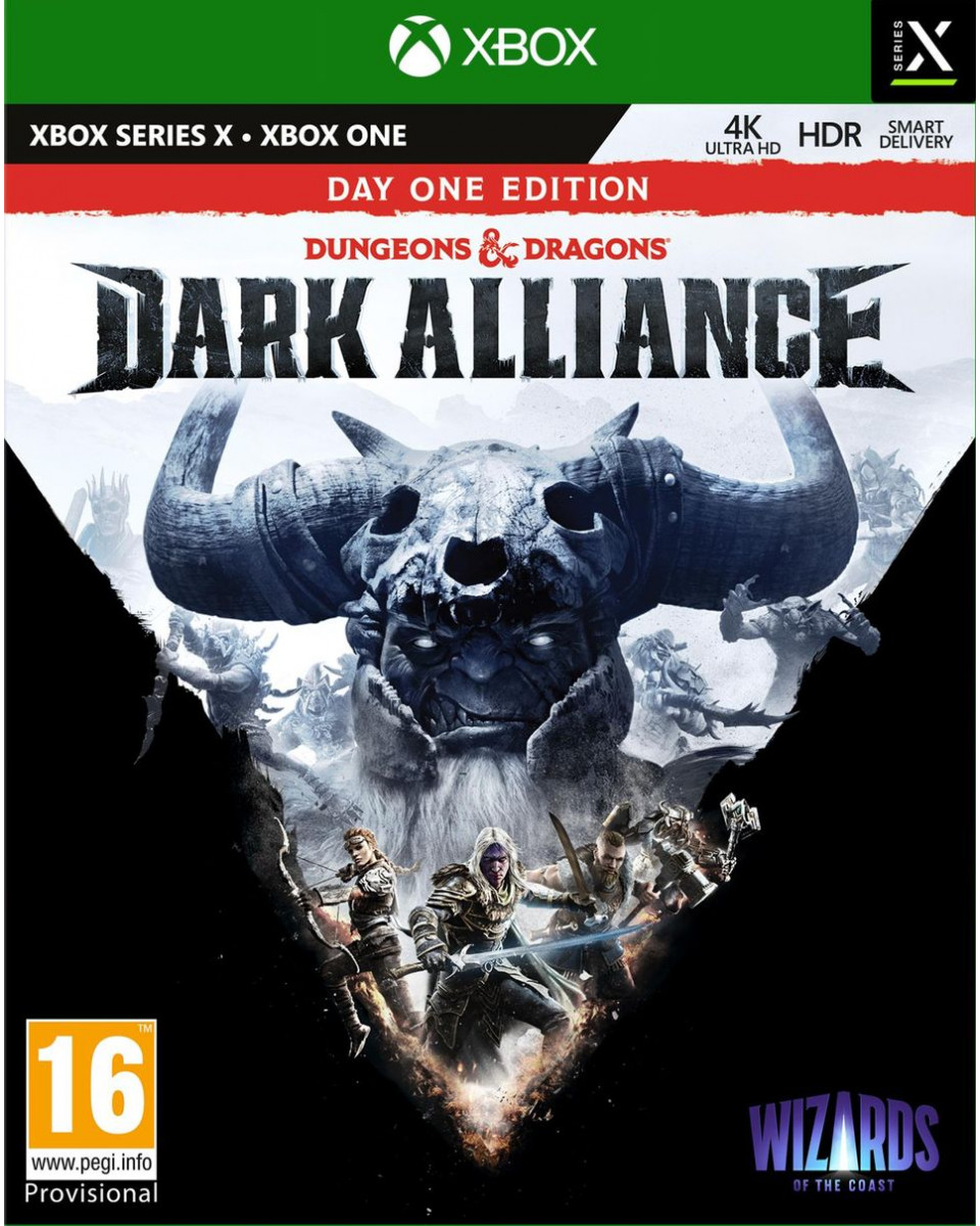 XBOX ONE XSX Dungeons and Dragons: Dark Alliance Special Edition