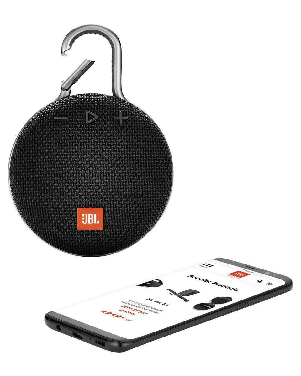 Zvučnici JBL CLIP 3 Bluetooth - Black