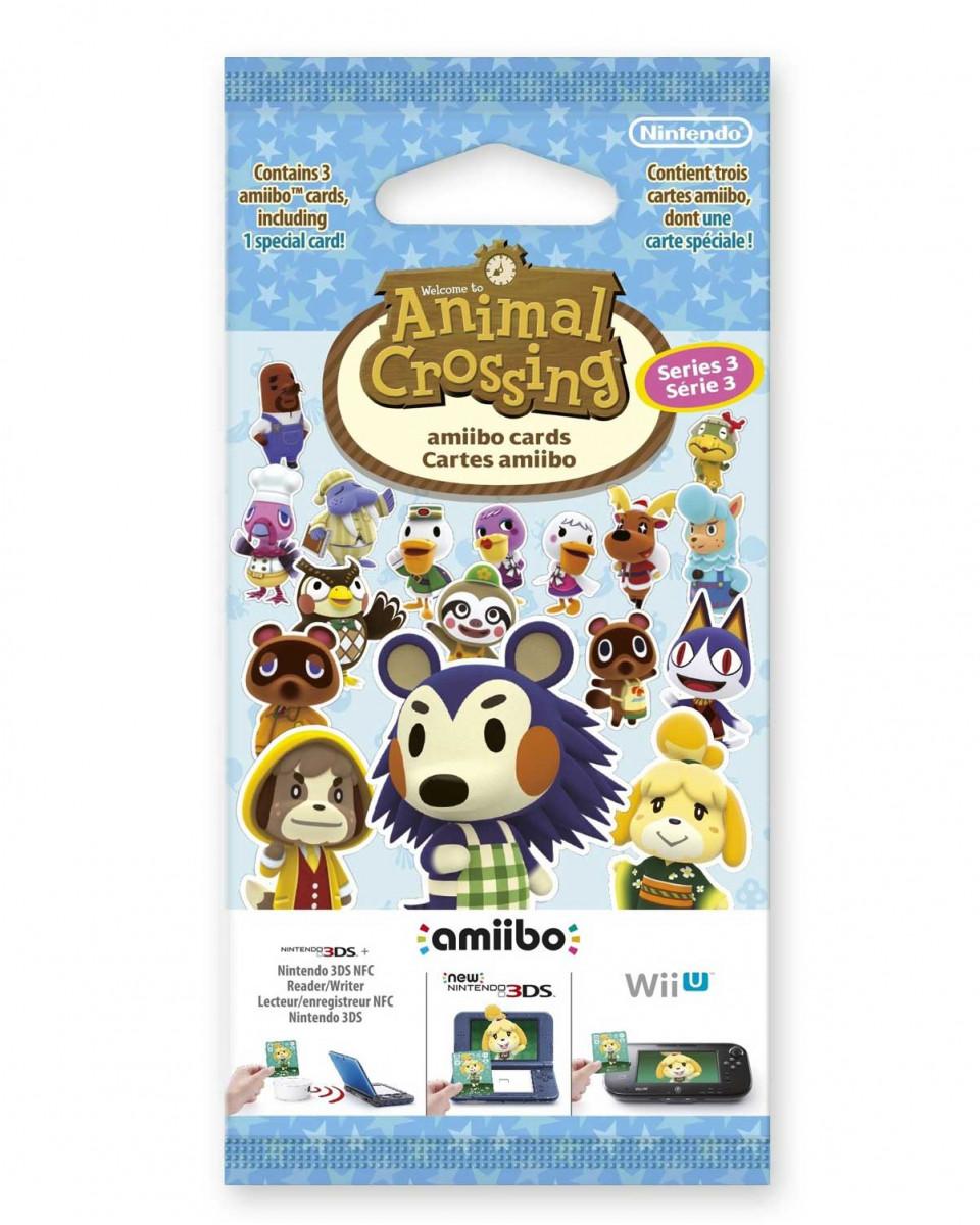 Animal Crossing Amiibo Card Series 3