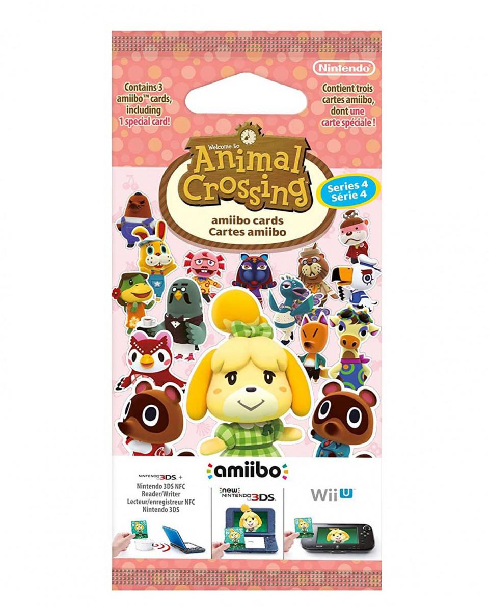 Animal Crossing Amiibo Card Series 4