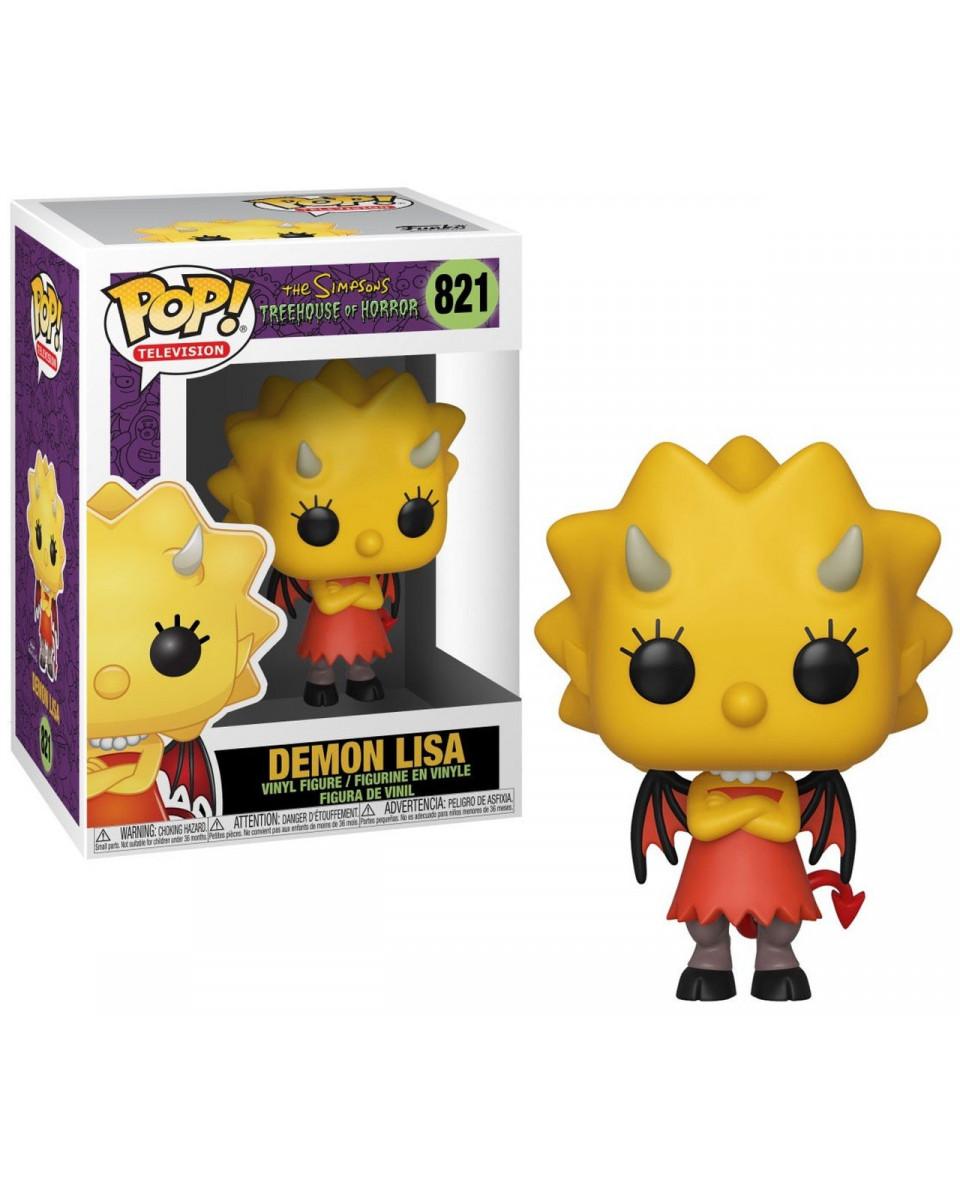 Bobble Figure Simpsons POP! - Demon Lisa