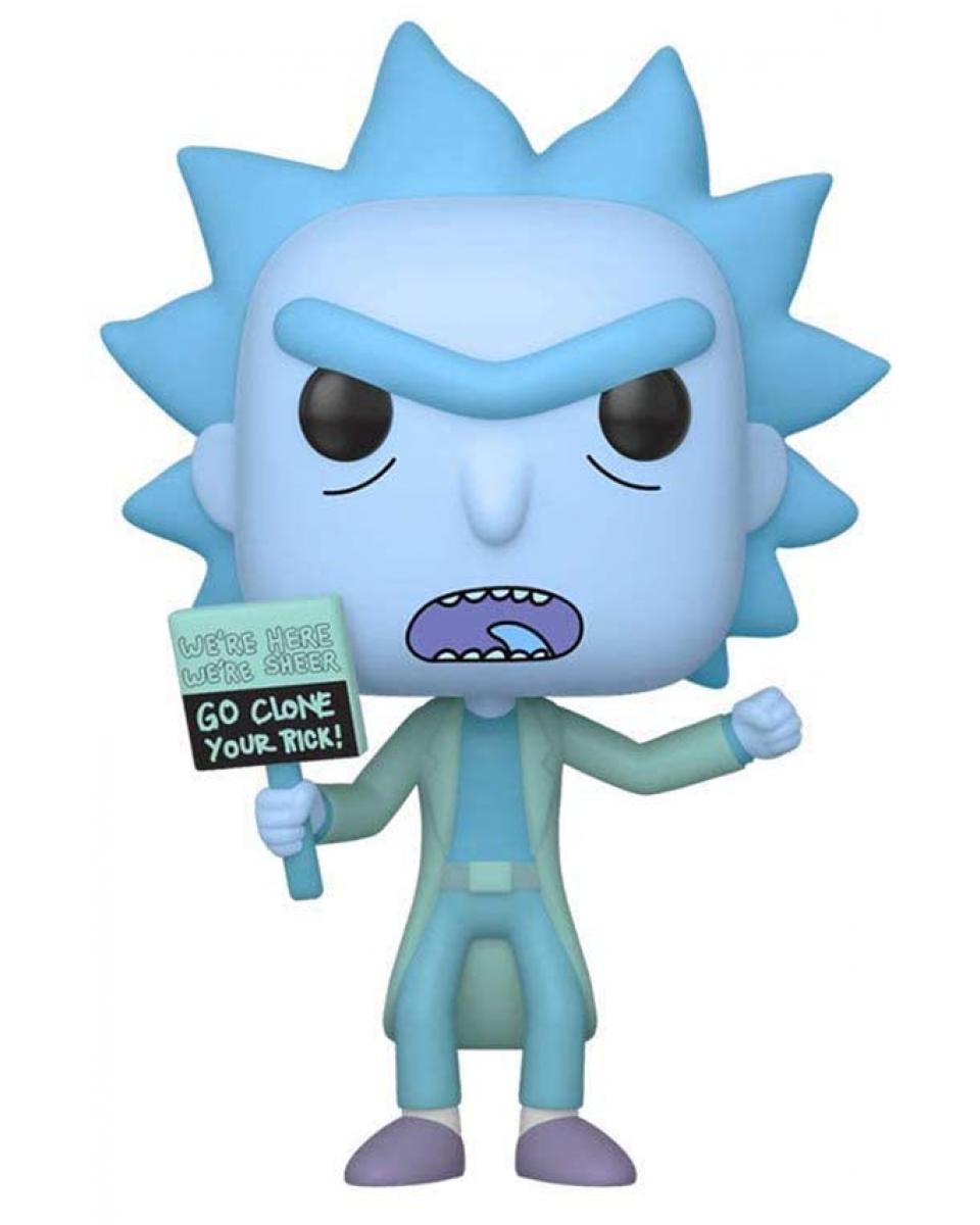 Bobble Figure Rick & Morty POP! - Hologram Rick Clone