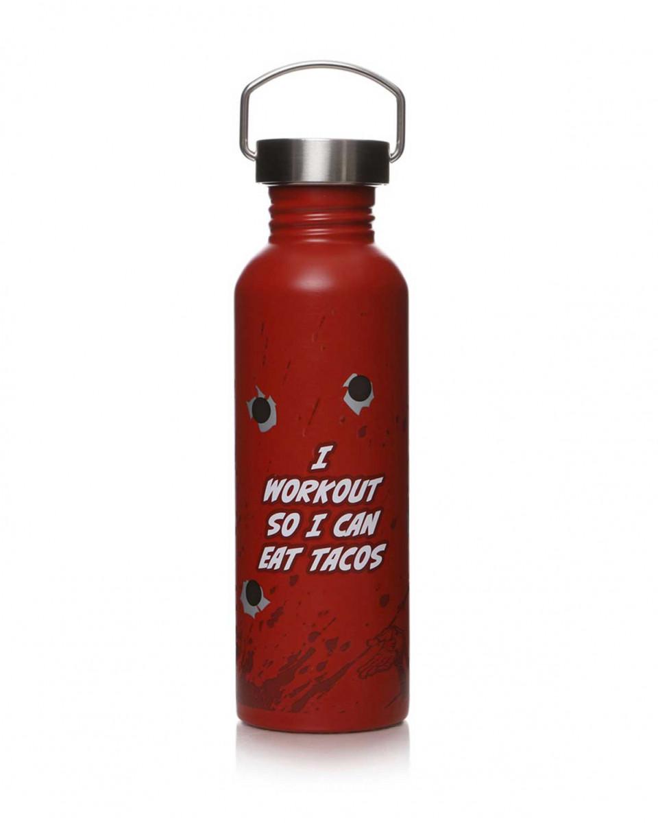 Flaša za vodu Deadpool - I workout