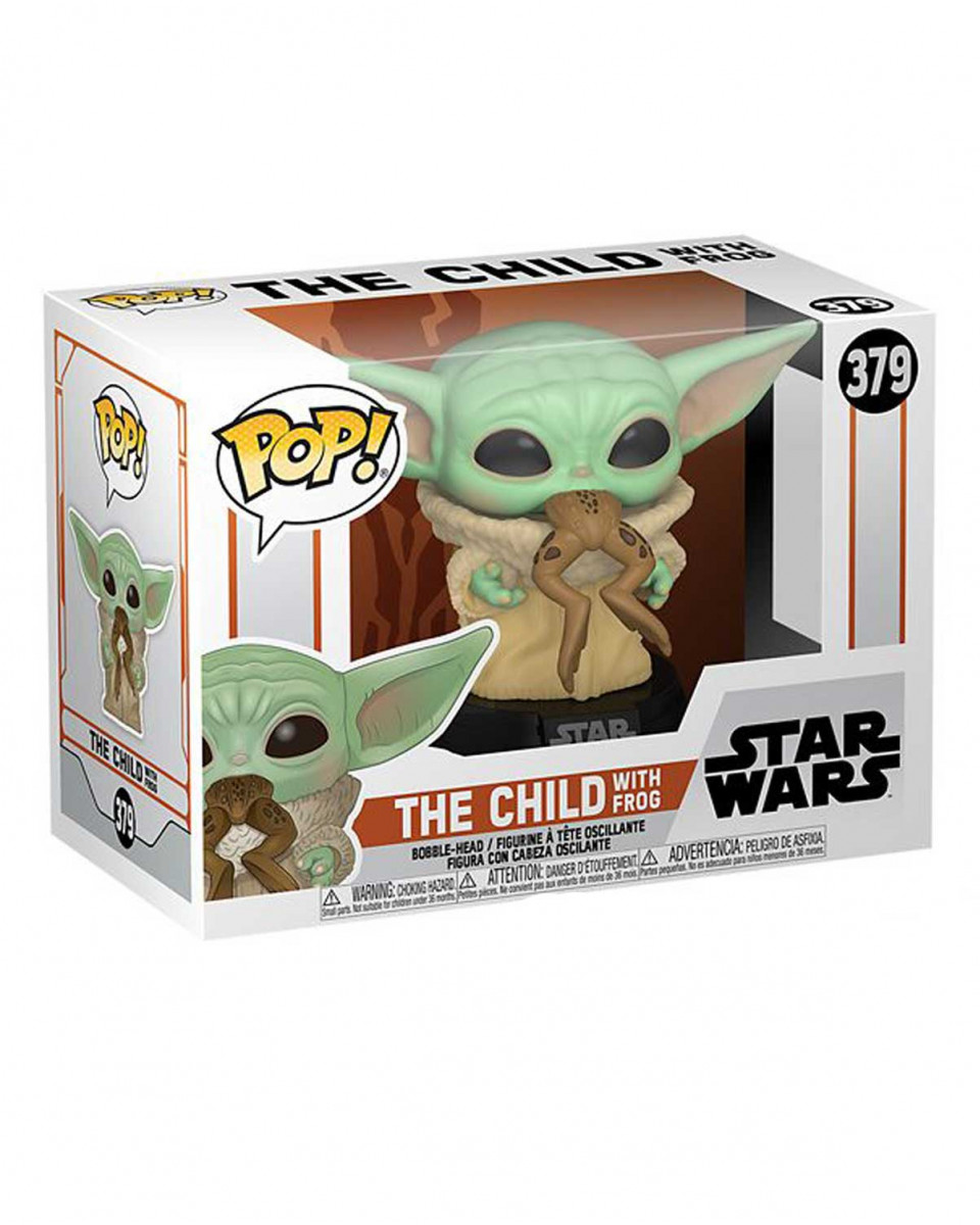 Bobble Figure Star Wars Mandalorian POP! - The Child With Frog