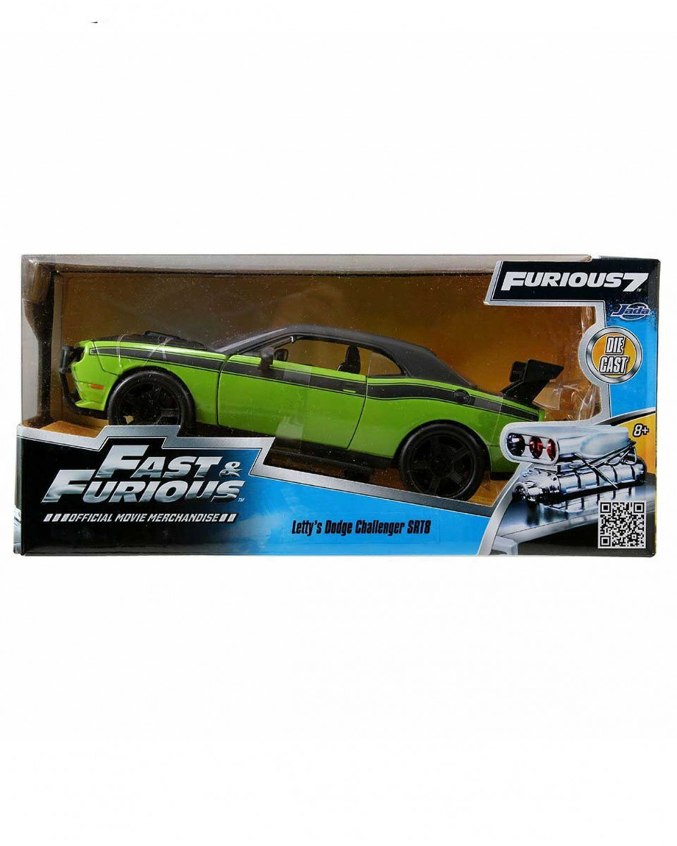 Diecast Model Fast & Furious 7 1/24 - 2011 Letty's Dodge Challenger