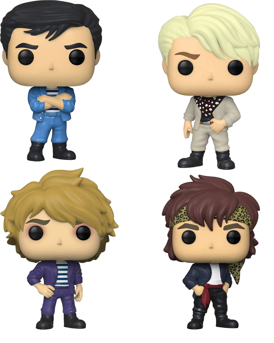 Bobble Figure Rocks POP! Duran Duran 3 +1