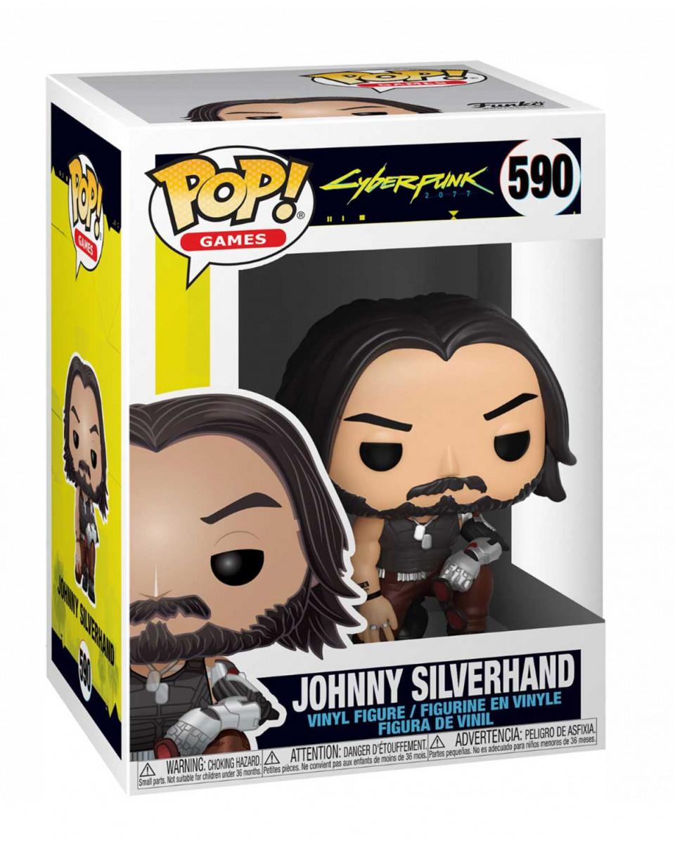 Bobble Figure Cyberpunk 2077 POP! - Johnny Silverhand