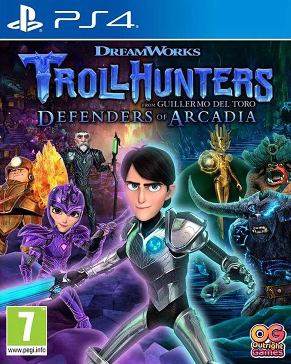 PS4 Trollhunters Defenders of Arcadia