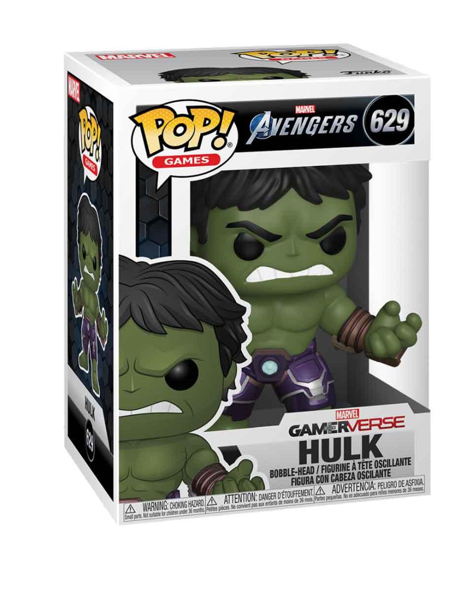 Bobble Figure Marvel Avengers Gameverse - Hulk ( Stark Tech Suit )