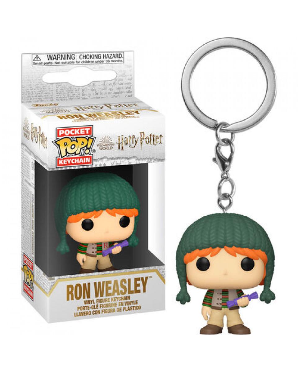 Privezak Harry Potter Holiday POP! - Ron Weasley