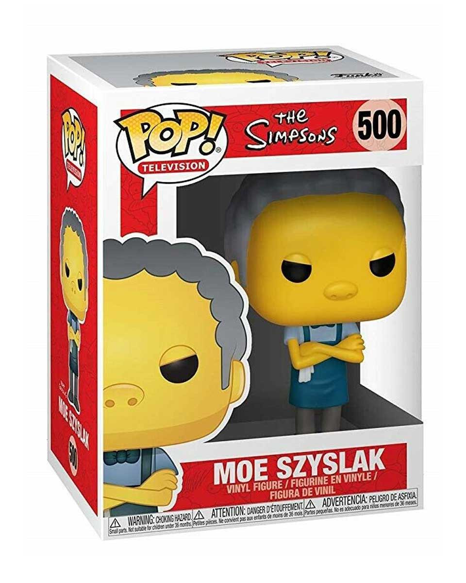 Bobble Figure The Simpsons POP! - Moe Szyslak