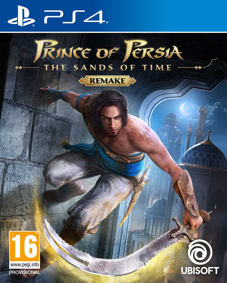 PS4 Prince of Persia Sands of Time Remake
