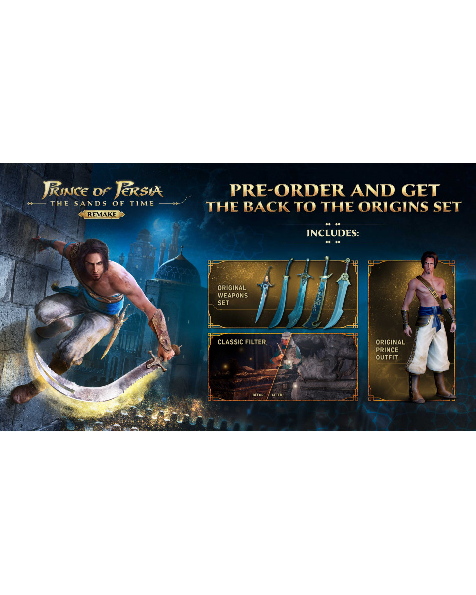 XBOX ONE Prince of Persia Sands of Time Remake