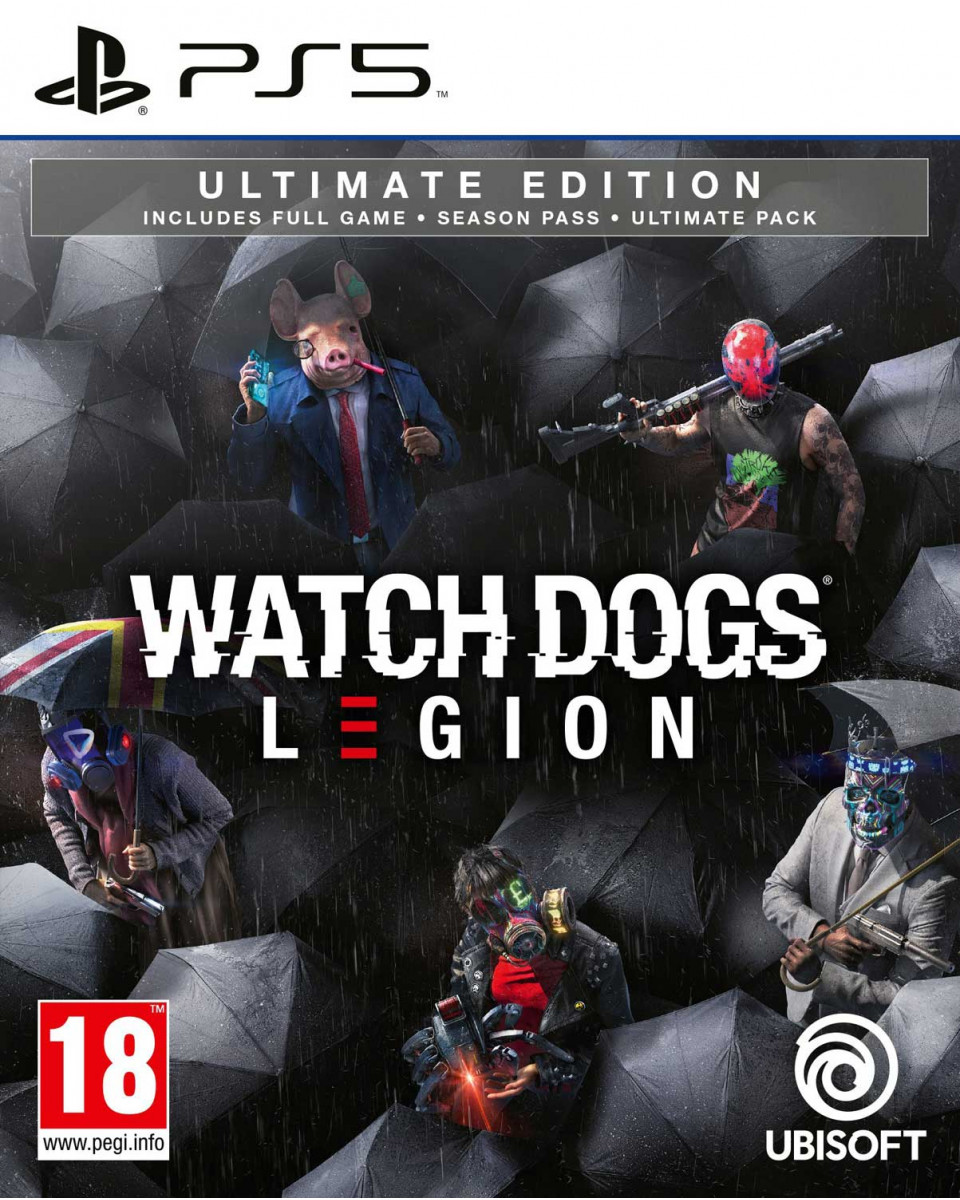 PS5 Watch Dogs - Legion Ultimate Edition