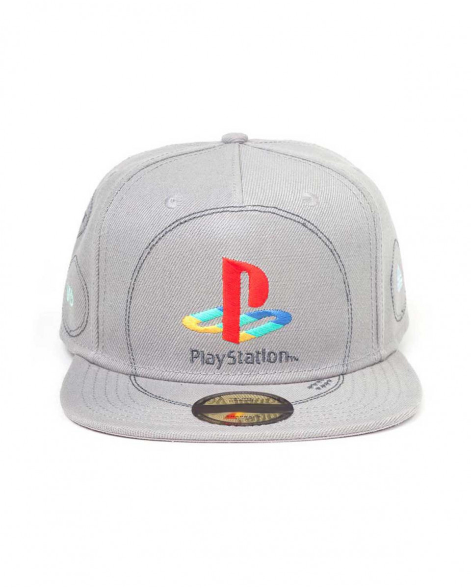 Kačket Playstation - Silver Logo Snapback