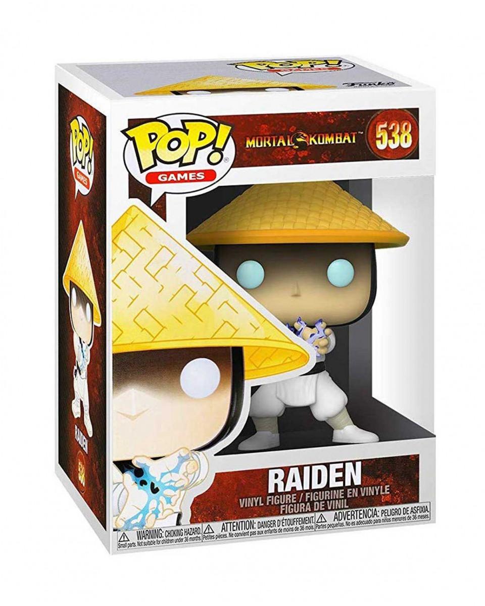 Bobble Figure Mortal Kombat POP! - Raiden